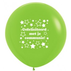 R36 - Communie Stars - Lime Green - 031 - 2 Sided - 1pcs
