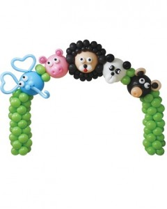 Animal Balloon Arch